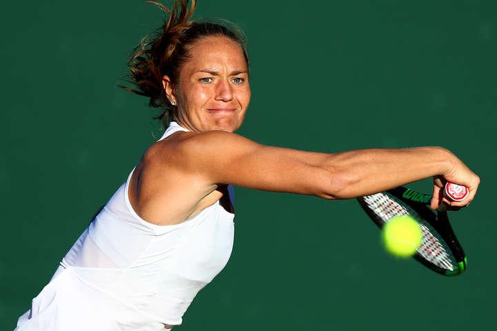 Українка Катерина Бондаренко програла після повернення на корт