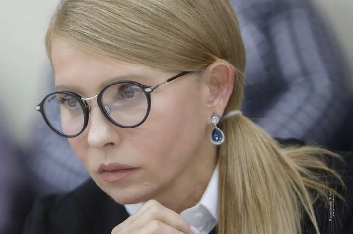 Лідерка «Батьківщини» Юлія Тимошенко — Тимошенко нагадала, хто першим узаконив особливий статус окупованого Донбасу