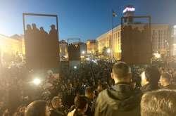 Фото: — <span>На Майдані — другий день протесту проти капітуляції</span>