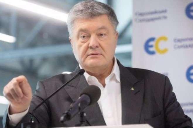 П'ятий президент України стверджує, що зараз Україні треба шукати вихід з цієї «пастки» — Порошенко заявив, що через «формулу Штайнмаєра» на Донбасі обиратимуть владу виборці з російськими паспортами