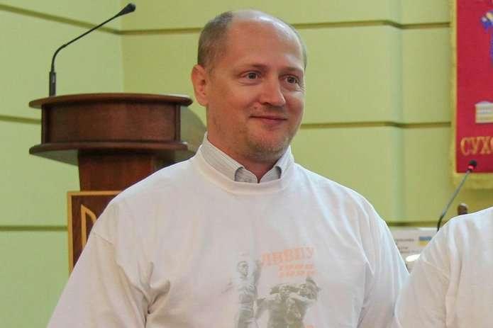 Журналіст Павло Шаройко