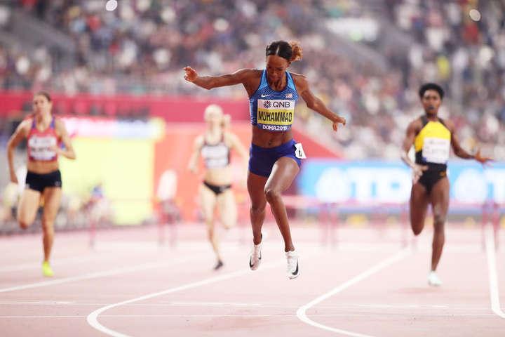 Американка встановила світовий рекорд на 400-метрівці з бар'єрами