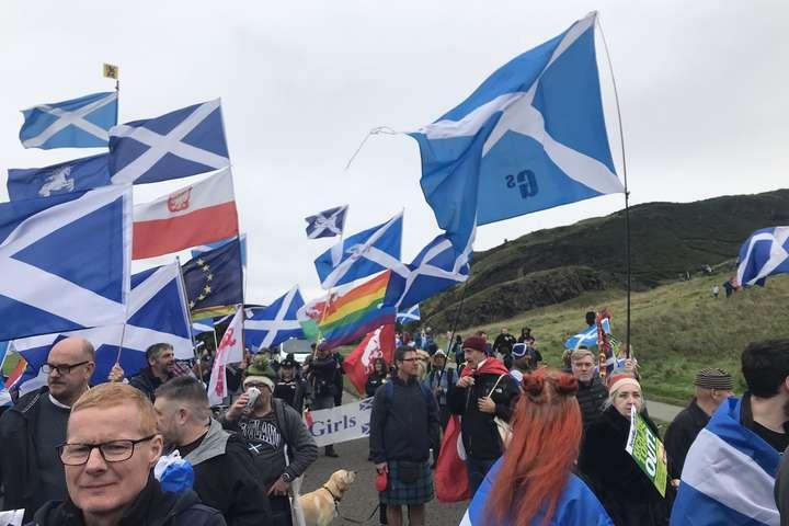 В Единбурзі відбувся марш за незалежність Шотландії