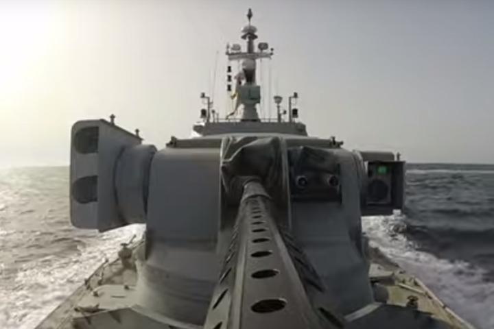 До Одеси прибув новозбудований броньований артилерійський катер