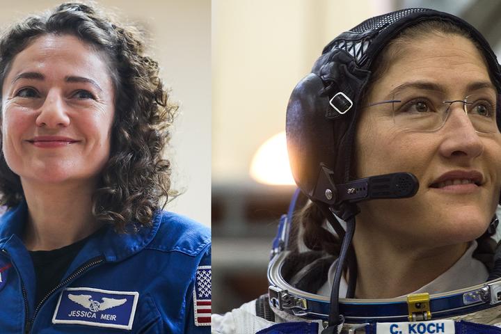 АстронавтиNASA Джессіка Мейр та Крістіна Кох планують разом здійснити прогулянку у відкритому космосі 21 жовтня — NASA готує першу жіночу прогулянку у відкритому космосі