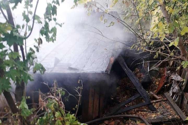 Через безхатченка у Житомирі горіло 11 сараїв