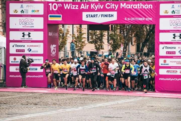 <p>Другий день 10th Wizz Air Kyiv City Marathon 2019 Об этом сообщает <a href=
