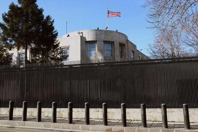 <span>Посольство США в Туреччині</span> — Туреччина викликала голову посольства США через «лайк» у Twitter