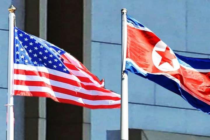 Прапори США та КНДР — КНДР погрожує припинити ядерні переговори з США