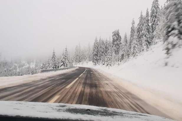 У Карпатах сніг: рятувальники просять не ходити в гори