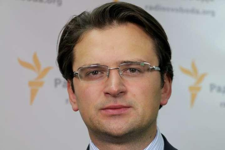 <span>Віцепрем'єр-міністр України з питань європейської інтеграції Дмитро Кулеба</span>