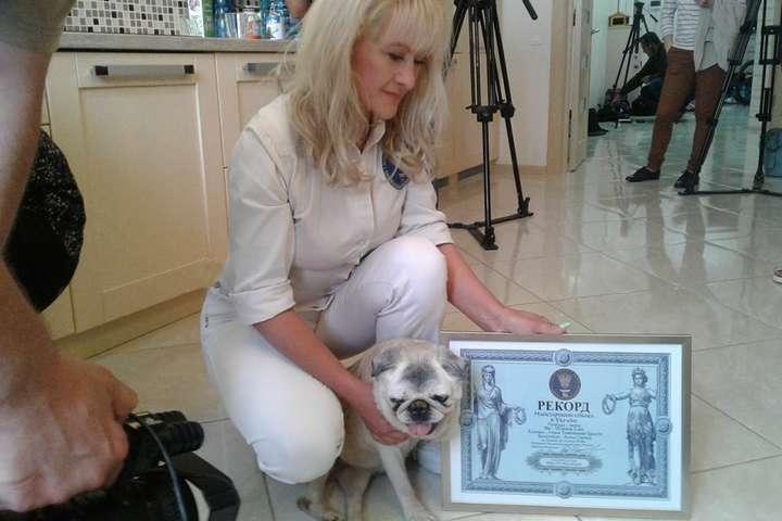 <p>Собаку було звати Луша Товстеньке Щастя</p> <p> — Померла найстаріша собака в Україні»></p></div> <div class=