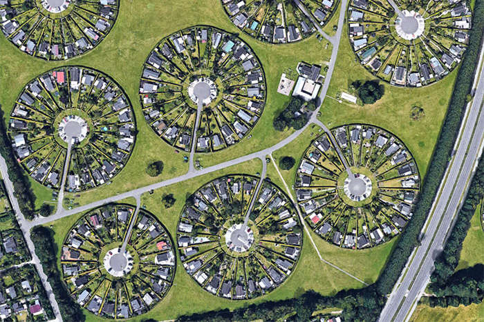 Неймовірне «місто садів» в Данії. Фотогалерея