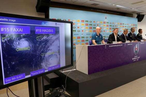 Організатори Кубка світу з регбі скасували матчі через негоду - Матчі Кубка світу з регбі скасували через загрозу тайфуну