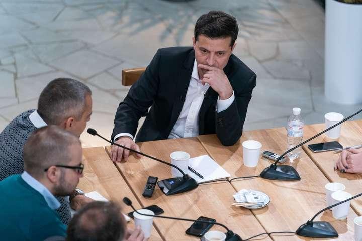 Президент Володимир Зеленський на пресмарафоні - Президент допускає домовленість із Коломойським стосовно «Приватбанку» без компенсації з бюджету