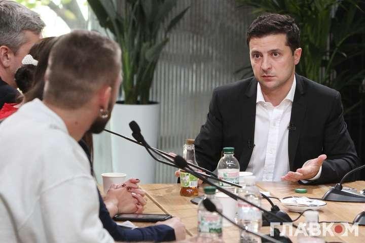 Володимир Зеленський - Команда президента «обговорює формат» розширення люстрації посадовців