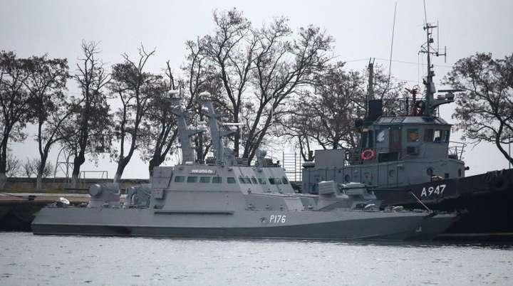 В МЗС заявили, що найближчим часом Росія поверне захоплені біля Керченської протоки кораблі