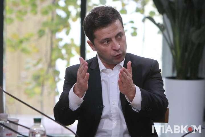 Володимир Зеленський - Президент заявив про неприйнятність автономії Донбасу