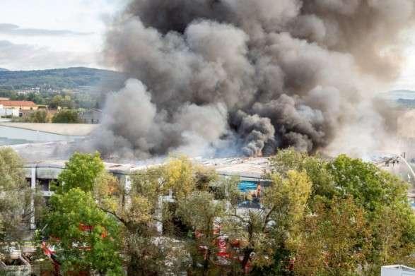 В Австрії стався вибух на фабриці з переробки відходів: є постраждалі