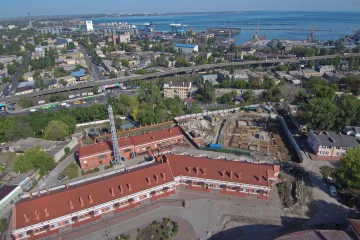В Одесі розпочато новий етап реконструкції інфекційної лікарні