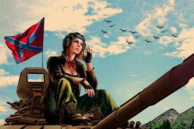 <p><span>Фільм &laquo;Ополченочка&raquo; прославляє проросійських бойовиків на Донбасі</span></p> <p> — Мінкульт вніс до чорного списку акторів фільму «Ополченочка»»></p></div> <div class=