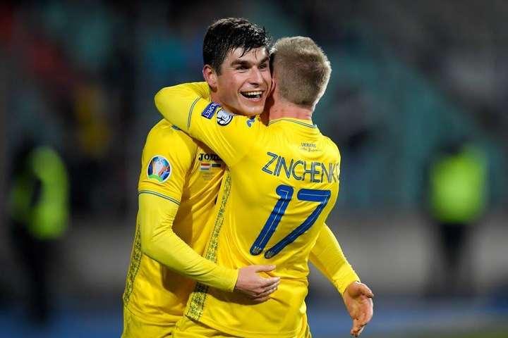 Руслан Малиновський зробив дубль - Україна перемогла Литву і знаходиться в кроці від Євро-2020