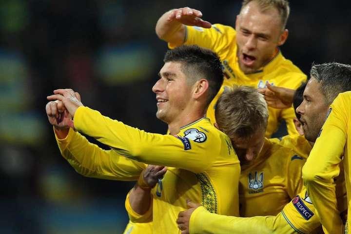 Героєм поєдинку став Руслан Малиновський - Україна – Литва: вікно на Євро-2020 з думками про Роналду