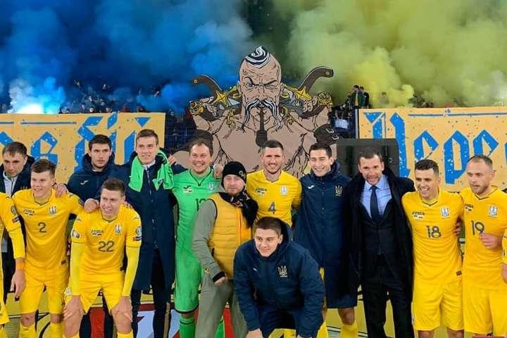 Свято перемоги - Відео найяскравіших моментів матчу Україна – Литва