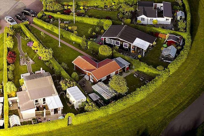 Необычный «город садов» в Дании (фото)