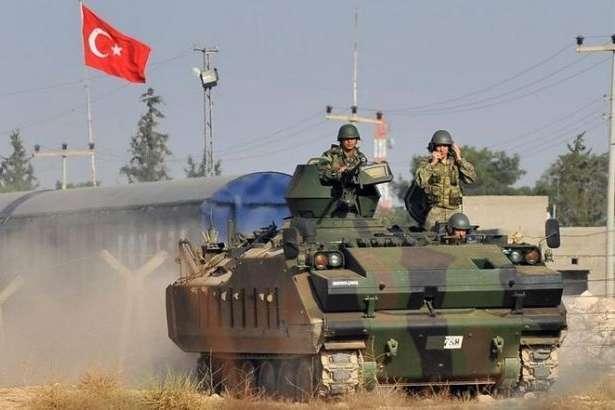 Як повідомляє Туреччина, позиції терористів були обстріляні як із землі, так і з повітря - Туреччина заявила про масштабну ліквідацію терористів в Сирії