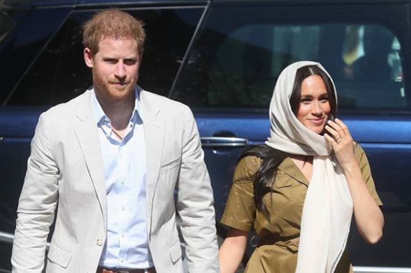 Принц Гарри и Меган Маркл - Принц Гарри и Меган Маркл хотят бежать в Канаду