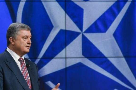 <p>П&rsquo;ятий президент України&nbsp;Петро Порошенко</p> <p> — Порошенко закликав НАТО розпочати у грудні розгляд надання Україні плану дій щодо членства у Альянсі»></p></div> <div class=
