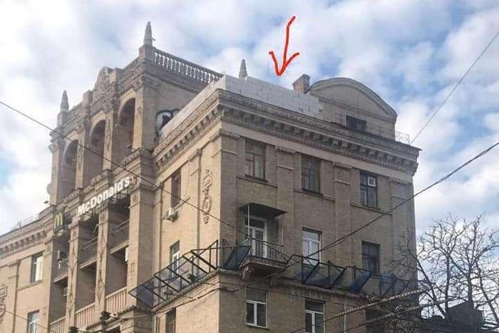 Радник КМДА назвав три способи зупинити незаконне будівництво на Майдані