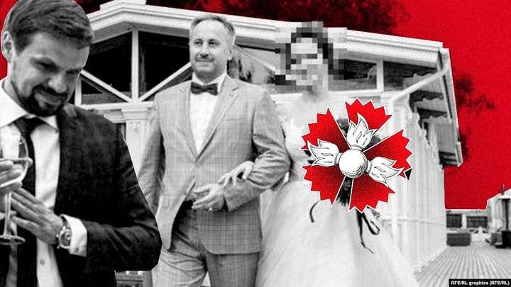 Отруєння Скрипаля: розслідувачі знайшли Чепігу на фото з весілля дочки генерала ГРУ
