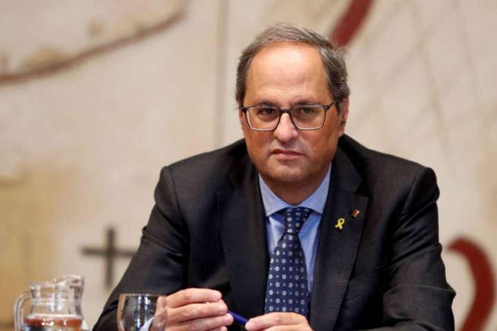 Кім Торр - Глава Каталонії розповів, що може зупинити масові протести