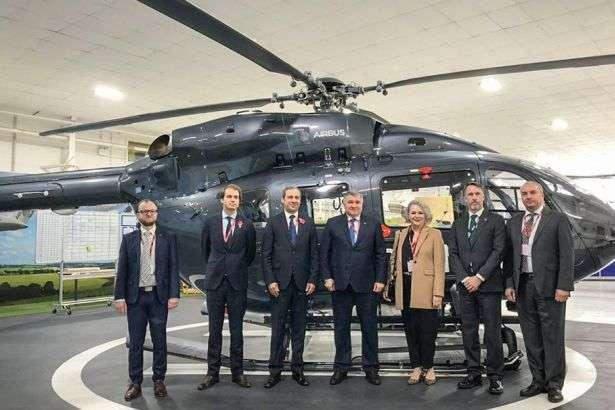 В Україні планують відкрити представництво Airbus