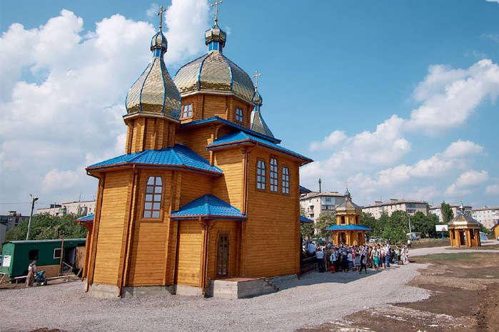 Церква була освячена у 2018 році — Громада з Волновахи вирішила приєднатися до Православної церкви України