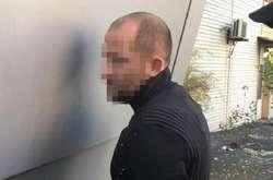 Фото: — <span>Один із затриманих фігурантів справи про незаконне прослуховування</span>