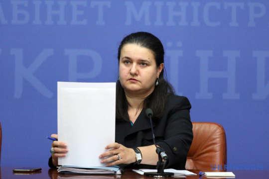 Оксані Маркаровій доручили підписати угоду з Європейським інвестбанком щодо залучення кредиту для малого і середнього бізнесу