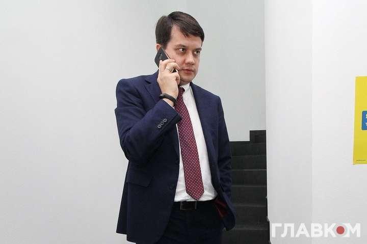 Разумков обсудил с президентом Бундестага «Северный поток - 2»