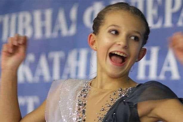 Анастасія Шабовтова має підстави для радості - Колишня російська фігуристка виграла медаль за Україну
