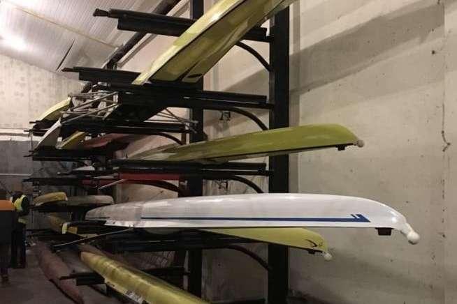 Перевіркою КМДАвстановлено наявність даних човнів на базі ДЮСШ «Регата» — Справа про розкрадання мільйонів, призначених для спортшколи: КМДА провела свою перевірку