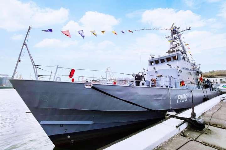 Два американські патрульні катери включили до складу Військово-морських сил Збройних сил України