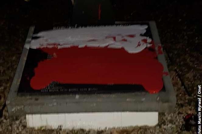 На території Польщі вчинено чергову наругу над українськими військовими похованнями