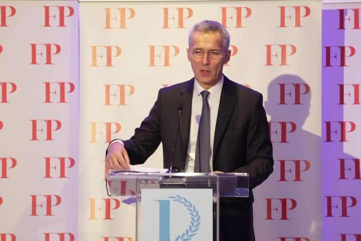 Генсек НАТО Єнс Столтенберг — Дипломат року за версією Foreign Policy — Журнал Foreign Policy назвав дипломата року