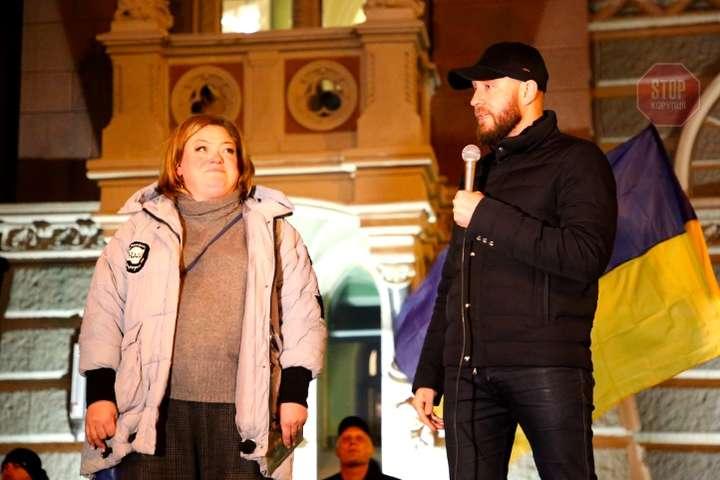 Активісти зустрілись із головою Ради НБУ Данилишиним