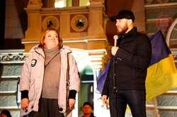 Фото: — Активісти зустрілись із головою Ради НБУ Данилишиним
