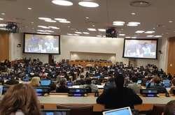 Фото: — <span>Ініціатором резолюції виступила Україна, ще близько 40 країн є її співавторами</span>