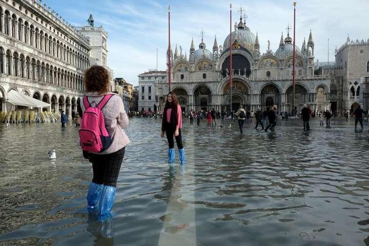 Венеція після повені - Повінь у Венеції пішла на спад