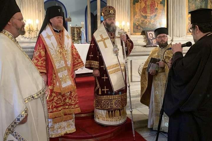<p>Божественна літургія звершувалася митрополитом УПЦ Михаїлом та архієпископом Євстратієм</p> — На Фанарі вперше відслужили літургію українською мовою